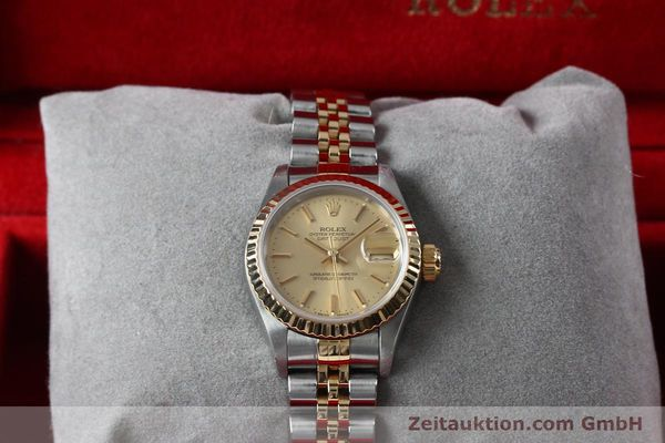 Used luxury watch Rolex Lady Datejust steel / gold automatic Kal. 2135 Ref. 69173  | 151994 07