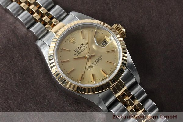 Used luxury watch Rolex Lady Datejust steel / gold automatic Kal. 2135 Ref. 69173  | 151994 14