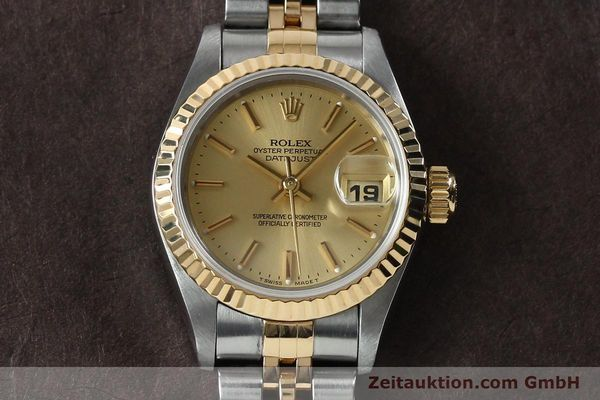 Used luxury watch Rolex Lady Datejust steel / gold automatic Kal. 2135 Ref. 69173  | 151994 15
