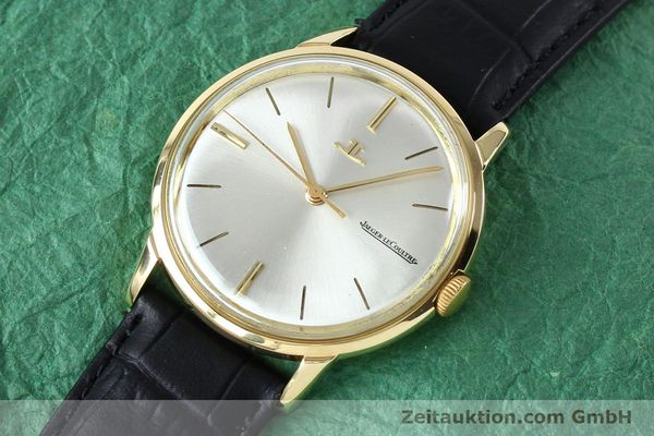 Used luxury watch Jaeger Le Coultre * 18 ct gold manual winding Kal. 819/C Ref. E952 VINTAGE  | 151995 01