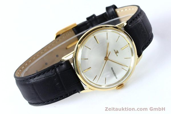 Used luxury watch Jaeger Le Coultre * 18 ct gold manual winding Kal. 819/C Ref. E952 VINTAGE  | 151995 03
