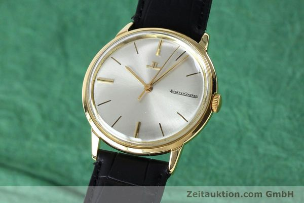 Used luxury watch Jaeger Le Coultre * 18 ct gold manual winding Kal. 819/C Ref. E952 VINTAGE  | 151995 04