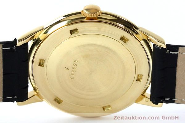 Used luxury watch Jaeger Le Coultre * 18 ct gold manual winding Kal. 819/C Ref. E952 VINTAGE  | 151995 10