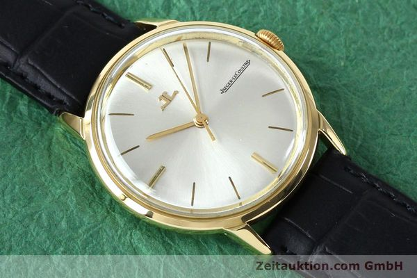 Used luxury watch Jaeger Le Coultre * 18 ct gold manual winding Kal. 819/C Ref. E952 VINTAGE  | 151995 12