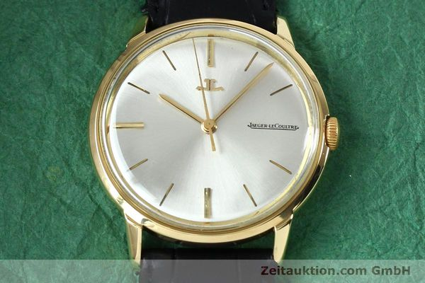 Used luxury watch Jaeger Le Coultre * 18 ct gold manual winding Kal. 819/C Ref. E952 VINTAGE  | 151995 13