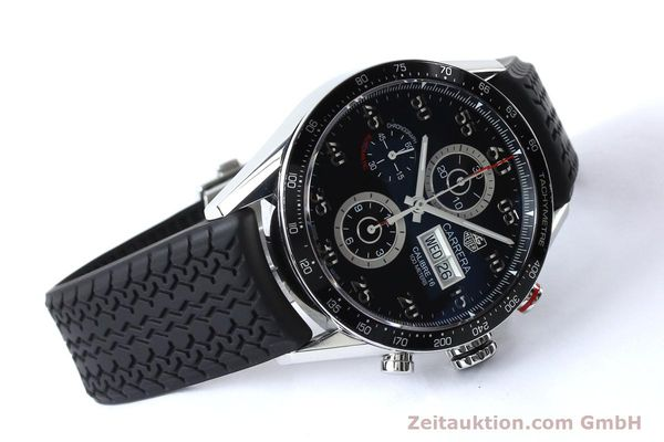 Used luxury watch Tag Heuer Carrera chronograph steel automatic Kal. 16 ETA 7750 Ref. CV2A10-0  | 152005 03