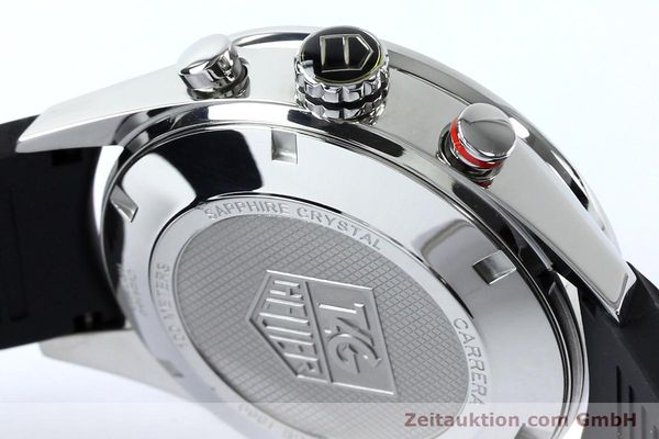 Used luxury watch Tag Heuer Carrera chronograph steel automatic Kal. 16 ETA 7750 Ref. CV2A10-0  | 152005 08