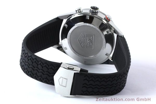 Used luxury watch Tag Heuer Carrera chronograph steel automatic Kal. 16 ETA 7750 Ref. CV2A10-0  | 152005 14