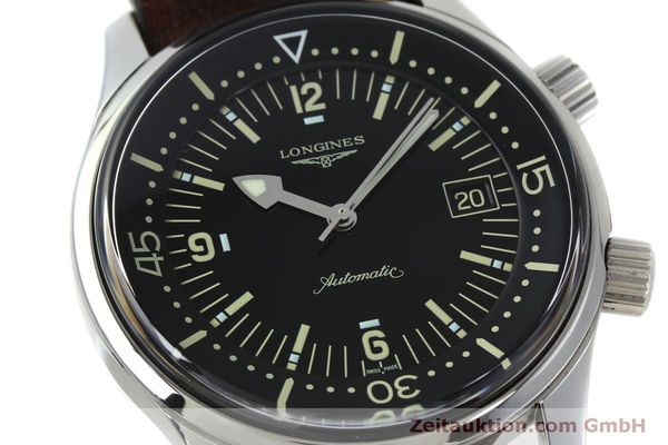 Used luxury watch Longines Legend Diver steel automatic Kal. L633.5 ETA 2824-2 Ref. L3.674.4  | 152007 02