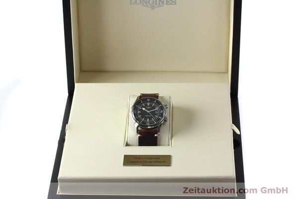 Used luxury watch Longines Legend Diver steel automatic Kal. L633.5 ETA 2824-2 Ref. L3.674.4  | 152007 07
