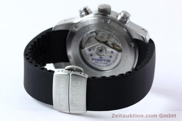Used luxury watch Fortis F-43 chronograph steel automatic Kal. ETA 7750 Ref. 701.10.41 LIMITED EDITION | 152009 11