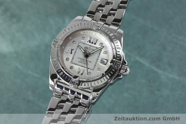 Used luxury watch Breitling Cockpit steel quartz Kal. B71 ETA 956652 Ref. A71356  | 152012 04