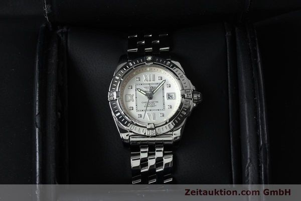 Used luxury watch Breitling Cockpit steel quartz Kal. B71 ETA 956652 Ref. A71356  | 152012 07