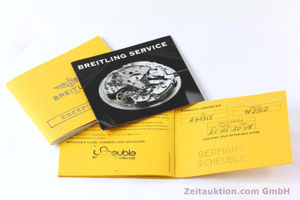 Used luxury watch Breitling Cockpit steel quartz Kal. B71 ETA 956652 Ref. A71356  | 152012 10