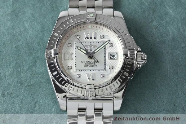Used luxury watch Breitling Cockpit steel quartz Kal. B71 ETA 956652 Ref. A71356  | 152012 16