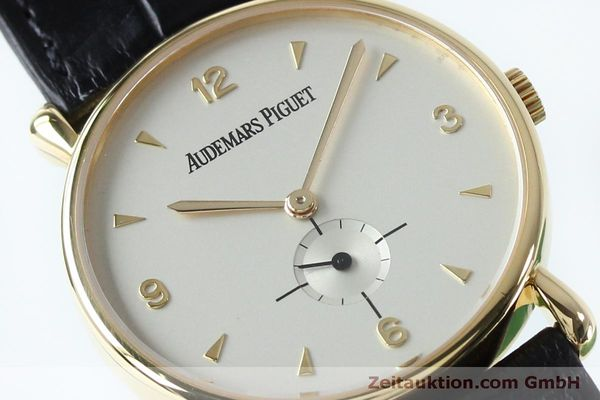 Used luxury watch Audemars Piguet * 18 ct gold manual winding Kal. 2085  | 152015 02