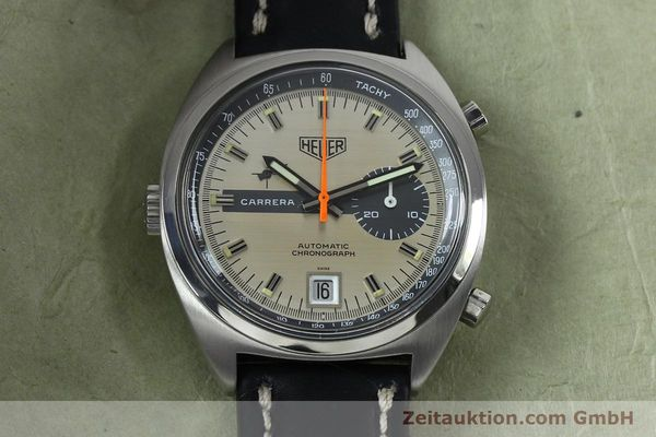 Used luxury watch Tag Heuer Carrera chronograph steel automatic Kal. 15 Ref. 1153 VINTAGE  | 152016 13