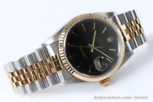 Used luxury watch Rolex Datejust steel / gold automatic Kal. 3135 Ref. 16233  | 152017 03