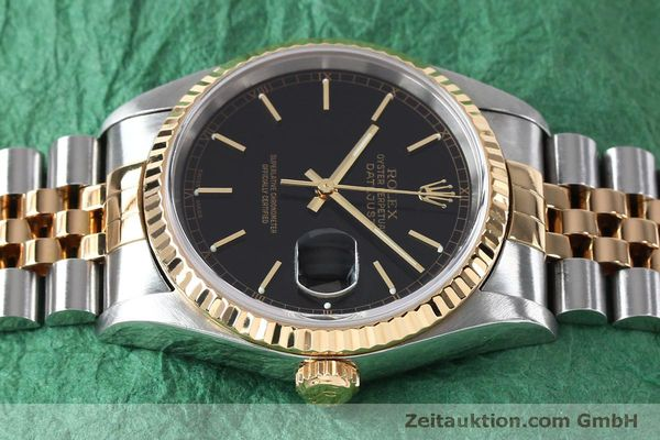 Used luxury watch Rolex Datejust steel / gold automatic Kal. 3135 Ref. 16233  | 152017 05