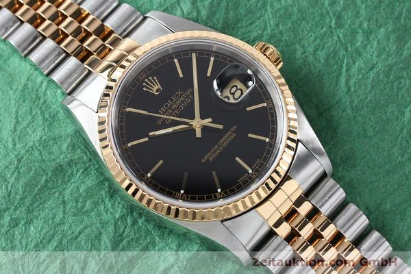 Used luxury watch Rolex Datejust steel / gold automatic Kal. 3135 Ref. 16233  | 152017 15