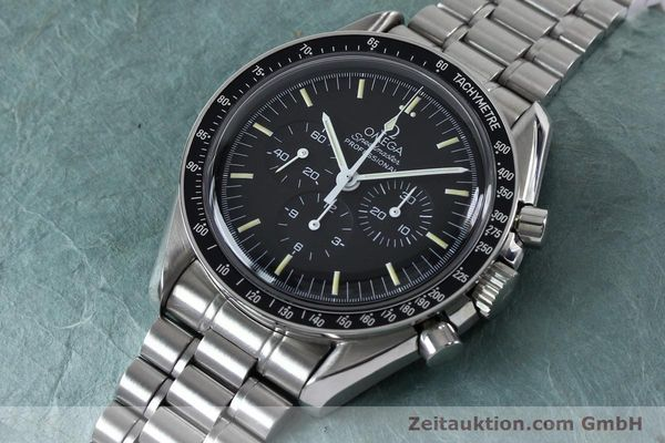 Used luxury watch Omega Speedmaster chronograph steel manual winding Kal. 861  | 152027 01