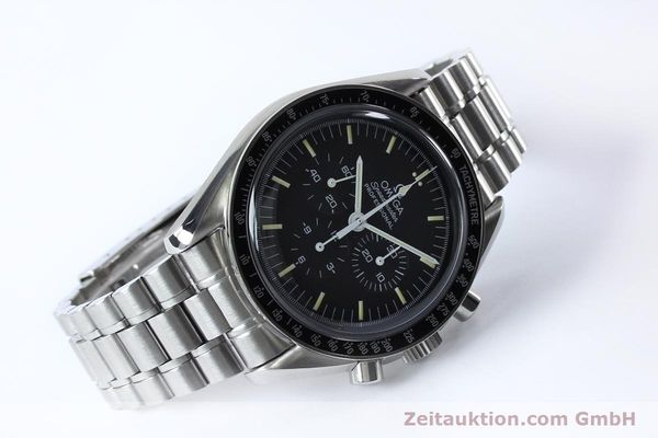 Used luxury watch Omega Speedmaster chronograph steel manual winding Kal. 861  | 152027 03