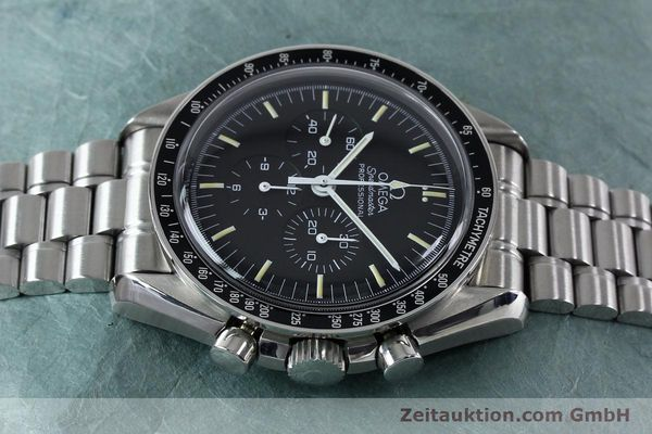 Used luxury watch Omega Speedmaster chronograph steel manual winding Kal. 861  | 152027 05
