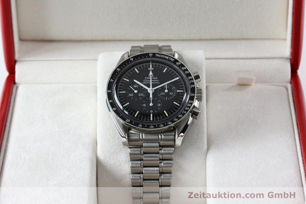Used luxury watch Omega Speedmaster chronograph steel manual winding Kal. 861  | 152027 07