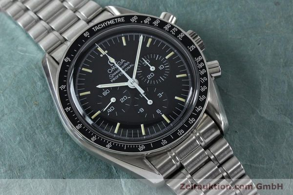 Used luxury watch Omega Speedmaster chronograph steel manual winding Kal. 861  | 152027 17