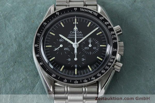 Used luxury watch Omega Speedmaster chronograph steel manual winding Kal. 861  | 152027 18