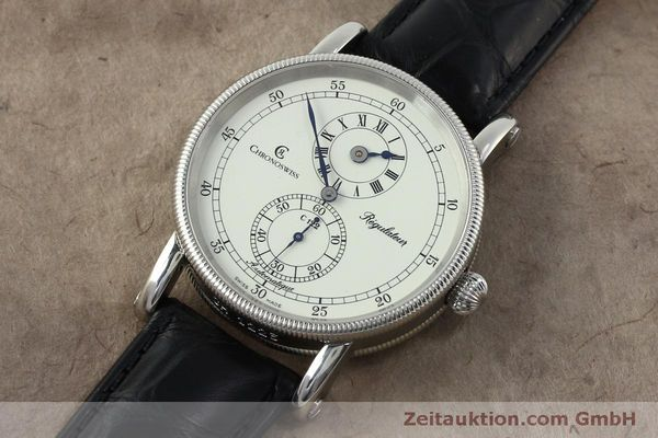 montre de luxe d occasion Chronoswiss Regulateur acier automatique Kal. 122 Ref. CH1223  | 152028 01