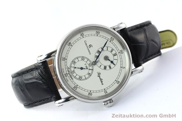 montre de luxe d occasion Chronoswiss Regulateur acier automatique Kal. 122 Ref. CH1223  | 152028 03