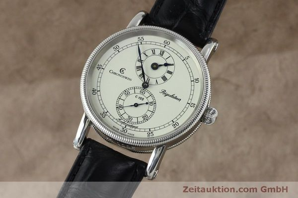 montre de luxe d occasion Chronoswiss Regulateur acier automatique Kal. 122 Ref. CH1223  | 152028 04