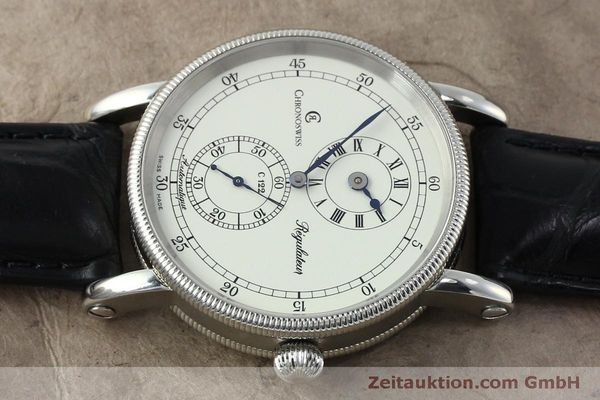 montre de luxe d occasion Chronoswiss Regulateur acier automatique Kal. 122 Ref. CH1223  | 152028 05