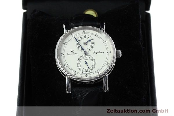 montre de luxe d occasion Chronoswiss Regulateur acier automatique Kal. 122 Ref. CH1223  | 152028 07