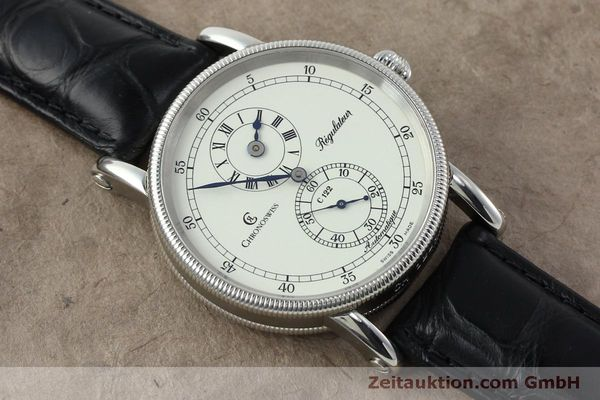 montre de luxe d occasion Chronoswiss Regulateur acier automatique Kal. 122 Ref. CH1223  | 152028 13