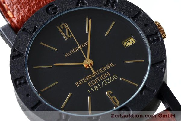 reloj de lujo usados Bvlgari International Edition carbon / oro automático Kal. ETA 2824-2 LIMITED EDITION | 152029 02