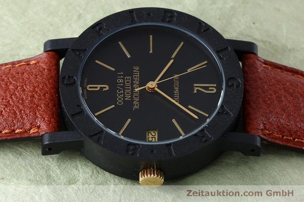 reloj de lujo usados Bvlgari International Edition carbon / oro automático Kal. ETA 2824-2 LIMITED EDITION | 152029 05