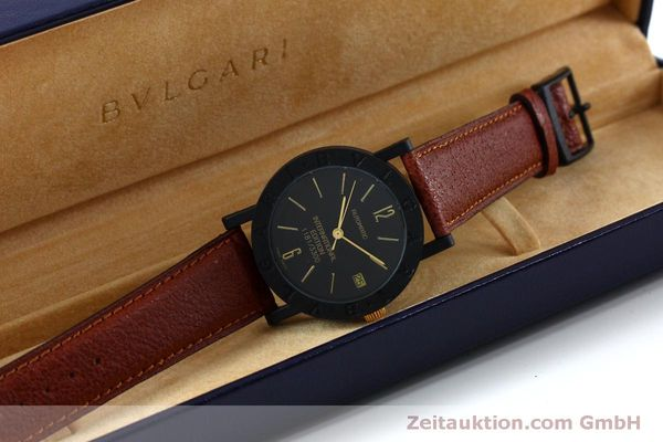 reloj de lujo usados Bvlgari International Edition carbon / oro automático Kal. ETA 2824-2 LIMITED EDITION | 152029 07