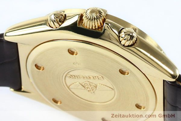 Used luxury watch Breitling Sextant chronograph 18 ct gold quartz Kal. 1270 Ref. 80350K55045  | 152032 08