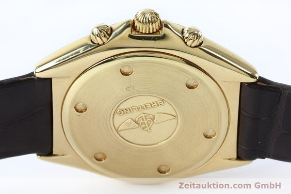 Used luxury watch Breitling Sextant chronograph 18 ct gold quartz Kal. 1270 Ref. 80350K55045  | 152032 10