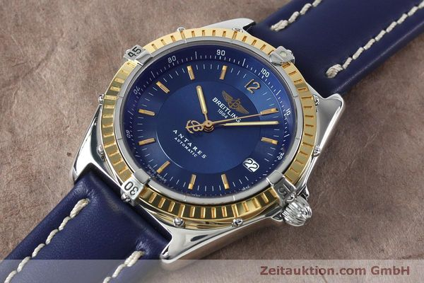 Used luxury watch Breitling Antares steel / gold automatic Kal. B10 ETA 2892-2 Ref. D10047  | 152038 01