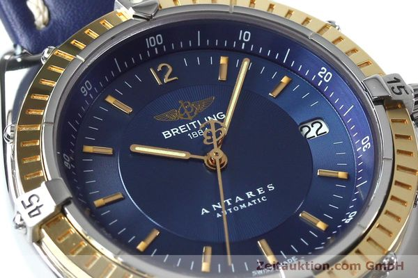 Used luxury watch Breitling Antares steel / gold automatic Kal. B10 ETA 2892-2 Ref. D10047  | 152038 02