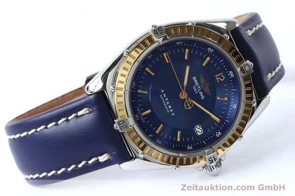 Used luxury watch Breitling Antares steel / gold automatic Kal. B10 ETA 2892-2 Ref. D10047  | 152038 03