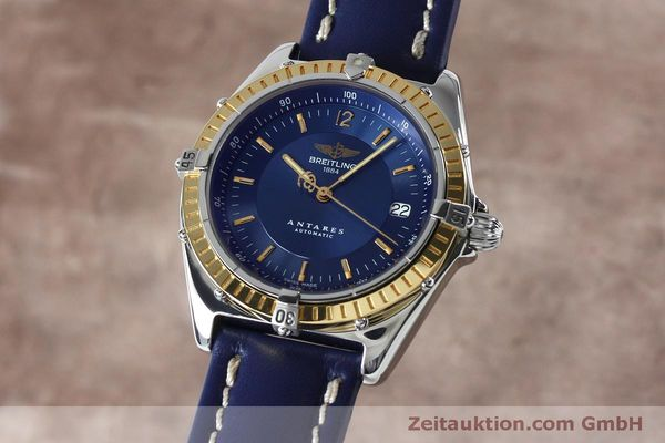 Used luxury watch Breitling Antares steel / gold automatic Kal. B10 ETA 2892-2 Ref. D10047  | 152038 04