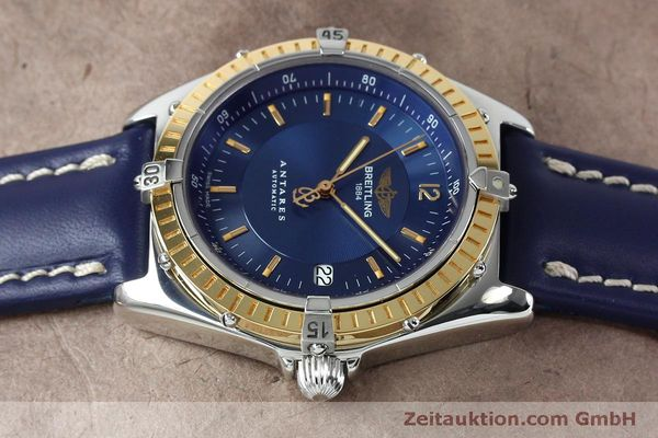 Used luxury watch Breitling Antares steel / gold automatic Kal. B10 ETA 2892-2 Ref. D10047  | 152038 05