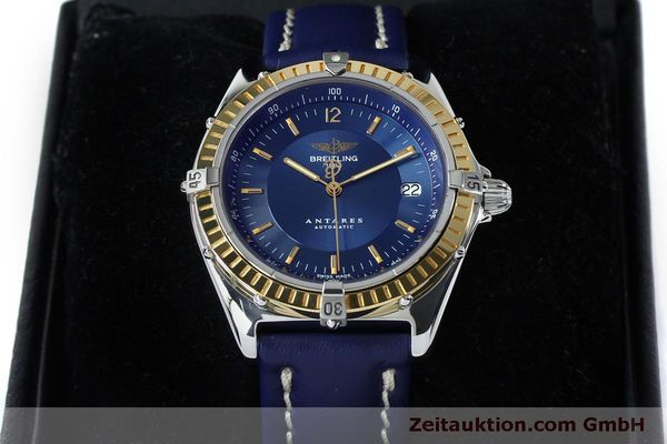 Used luxury watch Breitling Antares steel / gold automatic Kal. B10 ETA 2892-2 Ref. D10047  | 152038 07