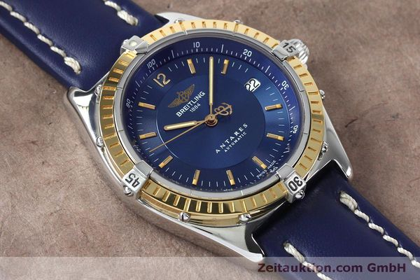 Used luxury watch Breitling Antares steel / gold automatic Kal. B10 ETA 2892-2 Ref. D10047  | 152038 13