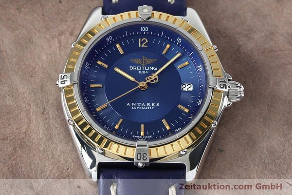 Used luxury watch Breitling Antares steel / gold automatic Kal. B10 ETA 2892-2 Ref. D10047  | 152038 14