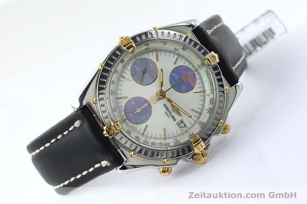 Used luxury watch Breitling Chronomat chronograph steel / gold automatic Kal. B13 ETA 7750 Ref. B13050  | 152040 03